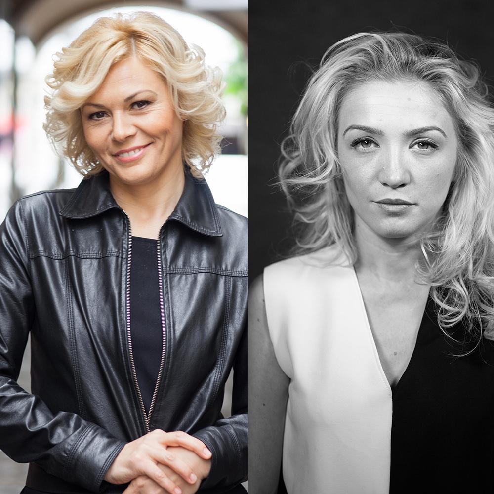 Mihaela Trofimov si Lavinia Pele
